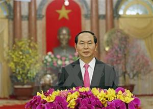 Thư Chúc tết của Chủ tịch Nước Cộng Hòa Xã Hội Chủ Nghĩa Việt Nam